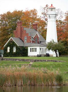 Port Sanilac Lighthouse, Michigan at Lighthousefriends.com