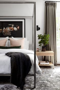 This Bedroom Interior Design Gives Us Major Heart Eyes! Easy Home Decor, Home Decor Bedroom, Cheap Home Decor, Bedroom Small, Casual Bedroom, Home Decoration, Diy Bedroom, Design Bedroom, Bedroom Furniture