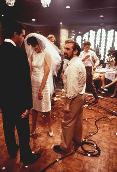 Martin Scorsese behind the scenes of Goodfellas (1990)