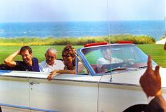 president kennedy and jackie in hyannis port with brother-in-law, prince stanislas radziwill, and long time friend charles spaulding Caroline Kennedy, Ted Kennedy, Robert Kennedy, Kennedy Compound, Hyannis Port, Lee Radziwill, Jfk Jr, John Fitzgerald, Long Time Friends