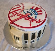 Yankees Cake by quaintcake, via Flickr