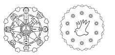 dabadebedúm: MANDALAS DE LA PAZ Mandals, Colouring, Social Studies, Boy's Day, One Day, Equality, Colouring In, October, Friendship