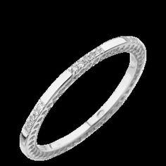 Bagues - Or Blanc - Diamant - ALLIANCE DIAMANTS OR BLANC