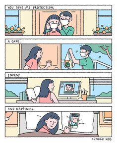 Cute Couple Comics, Couples Comics, Cute Couple Cartoon, Comics Love, Cute Couple Art, Cute Love Cartoons, Cute Comics, Funny Comics, Cute Drawings Of People