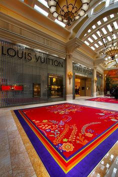 Shopping at Wynn Las Vegas