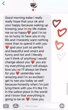 Sweet Messages For Boyfriend, Love Text To Boyfriend, Cute Boyfriend Texts, Cute Boyfriend Sayings, Cute Text Messages, Thank You Quotes For Boyfriend, Boyfriend Goals, Perfect Boyfriend Quotes, Future Boyfriend