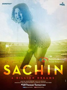 #Sachin: A Billion Dreams is a biography documentary film which was the life story of Indian cricketer #SachinTendulkar.