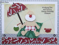 Back to work Santa, fun-ideas handmade