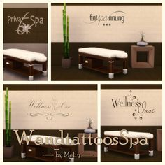 Sims 4 CC's - The Best: Wall Tattoos by Melly