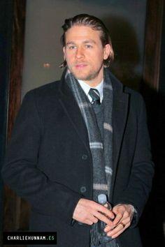 Charlie Hunnam 28/01/14 - NYC
