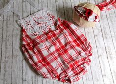 INA Bubble Romper & Tieback 6-12 MONTH by LorasBabyBoutique