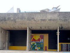 Vidhan Bhavan ( Legislative Assembly) Part of city center development. Chandigarh, India. 1951-1965. Le Corbusier,