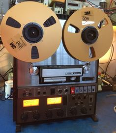 Ampex ATR-700 as Studer A810 Reel-to-Reel Tape Recorder serviced read for studio #Ampex