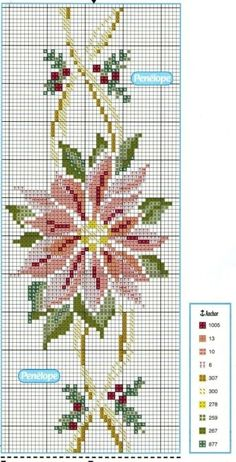 This Pin was discovered by nur Xmas Cross Stitch, Cross Stitch Borders, Cross Stitch Flowers, Cross Stitch Charts, Cross Stitch Designs, Cross Stitching, Cross Stitch Embroidery, Embroidery Patterns, Cross Stitch Patterns