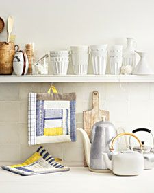 Decorate your home with hand-sewn pillows, blankets, curtains, placemats, and other customizable accessories.
