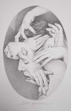 Medusa - Drawing | Scott Hutchison