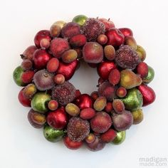 The inspiration for day 61 of our100 Days of Homemade Holiday Inspirationis one that has so many lovely possibilities! This DIY Ornament Wreath is absolutely gorgeous, and you can customize it t...