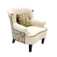 Deerfield Arm Chair  (like the two tone fabric)