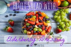 New post on The Pipe Line! Check out this super simple, super delicious recipe for Fruit Salad with Elderberry Dressing, fresh from the kitchen of Julie Wood, one of our Certified Nutritional Consultants. Supporting your immune system has never been quite so tasty!**
