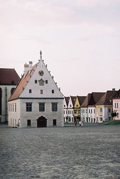 Bardejov is a town in North-Eastern Slovakia. It is situated… World Cities, Countries Of The World, Bratislava Slovakia, Medieval Town, Central Europe, Types Of Houses, Traditional House, Beautiful Places, Antiquities
