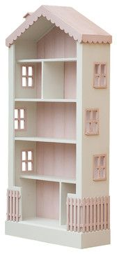 Alice's Dollhouse Tall Bookcase traditional-toy-storage