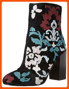 Rebecca Minkoff Women's Bojana Boot, Black/Floral Embroidery, 9.5 M US - All about women (*Amazon Partner-Link)