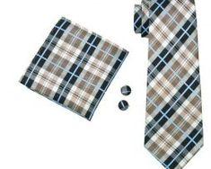 Elegantná sada kravaty + manžetové gombíky + vreckovka s károvaným vzorom1 Accessories, Fashion, Moda, La Mode, Fasion, Fashion Models, Trendy Fashion