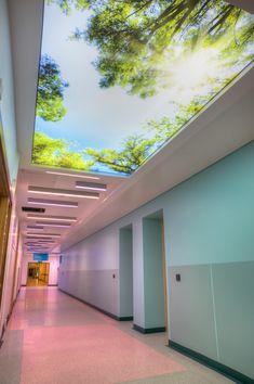 Clinic Interior Design, Clinic Design, Medical Design, Healthcare Design, Loft Design, House Design, Commercial Kitchen Design, Sky Ceiling, Corridor Design