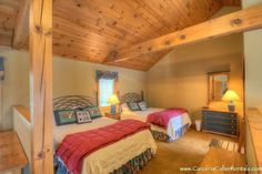 Chippewa Cottage - Open Floor Plan with Two Queen Beds
