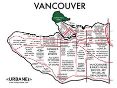 The map of Vancouver, still partying like it's 2010. / 8 City Maps That Are Annoyingly Accurate (via BuzzFeed)