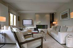 Un salon décoré par Dorga, David Burles    Décoration restaurant - design - déco
