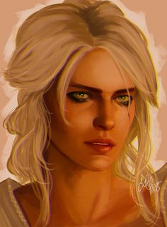 Cirila (sir-illa), or Ciri (like iPhone Siri), Brarrack, powers: can turn into a wolf and can travel quickly place to place like fast traveling, brave daring, most call her kind Witchers but she doesn't care if she is the only female Witcher or not, only friend is Josh due to being seen as weak