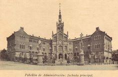 Hospital de Sant Pau i de la Santa Creu. Pabelló de l'Administració. Barcelona.