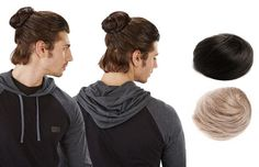 Get Your Clip In Man Bun on Groupon Right Now