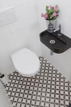 Afbeeldingsresultaat voor toilet ideeen tegels