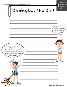 What to expect . . .  end of year writing prompt