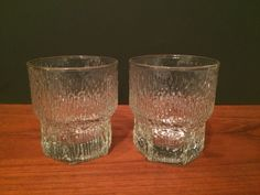 Iittala Aslak Double Old Fashioned Tumblers Set of Two