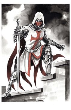 Azrael from Dc comics, i really like the design