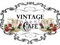 """Möbeltattoo """"Vintage Café in DIN A 4 = 5,50 €"""