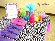 """Photo 6 of spa pamper party / Birthday """"Spectacular Spa Party"""" Kinder Spa Party, Kids Pamper Party, Spa Day Party, Girl Spa Party, Spa Birthday Parties, Sleepover Party, Slumber Parties, Birthday Party Themes, 9th Birthday"""