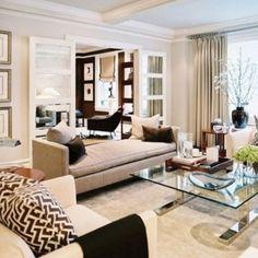 Cosy yet elegant living room