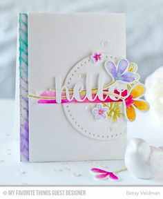 Cute card! Made by Betsy Veldman