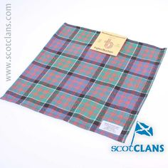 Macdonald of Clanranald Ancient Pocket Square