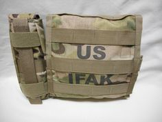 MULTICAM IFAK II INDIVIDUAL FIRST AID KIT W/SUPPLIES NWOT EXP. DATES 2019-2022