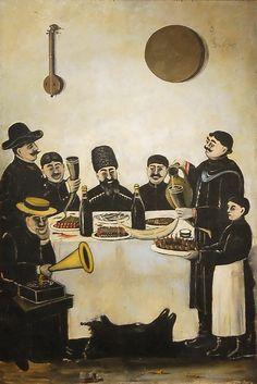 Company Bego | Niko Pirosmani (Georgian: 1862-1918)