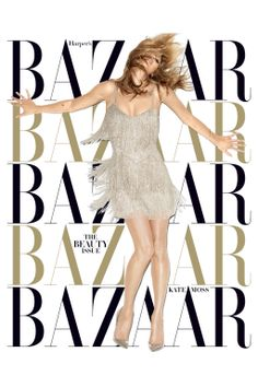 Kate Moss for Harper's Bazaar May 2014 cover.