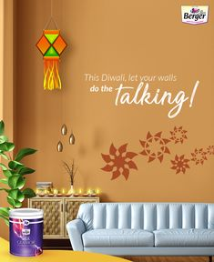Give a festive touch to your living room. Browse through living room colors photos and wall texture images on our website.  #roomcolourimage #homepaintingimages #wallcolourimages #housecolourimage #paintingpicture #paintingphoto