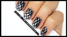 Metallic Snakeskin Nail Art (no stamping!)