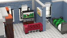 LEGO Ideas - Modular Arcade Lego Candy, Lego Furniture, Lego House, Lego Projects, Product Ideas, Cool Lego, Lego Creations, Kid Activities, Arcade Games