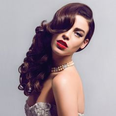 Wedding Beauty: gorgeous hair and makeup ideas for brides-to-be - Gallery | torontolife.com | Love the hair and lips!!